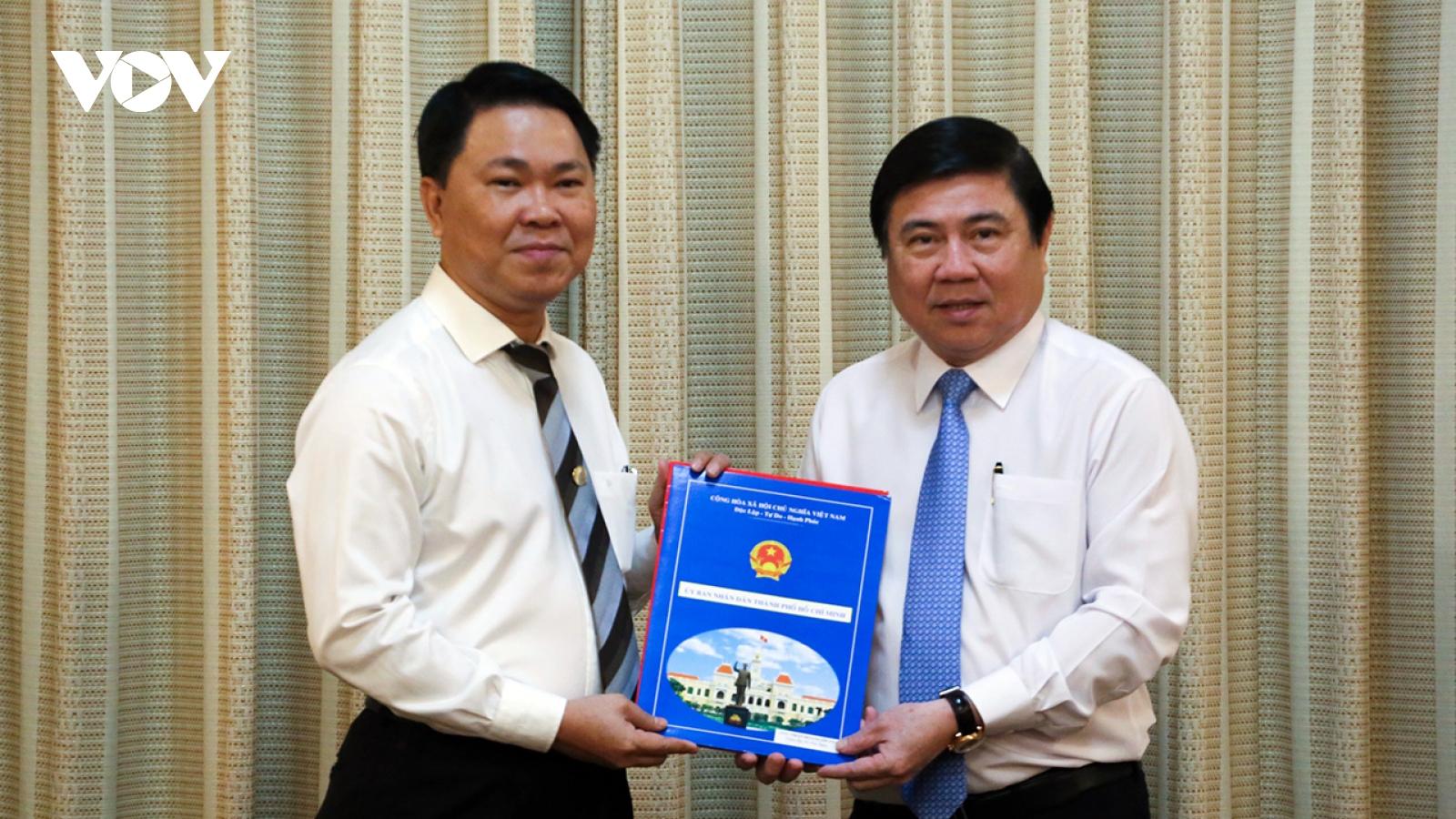 Bí thư Huyện ủy Bình Chánh làm Giám đốc Sở Xây dựng TP.HCM