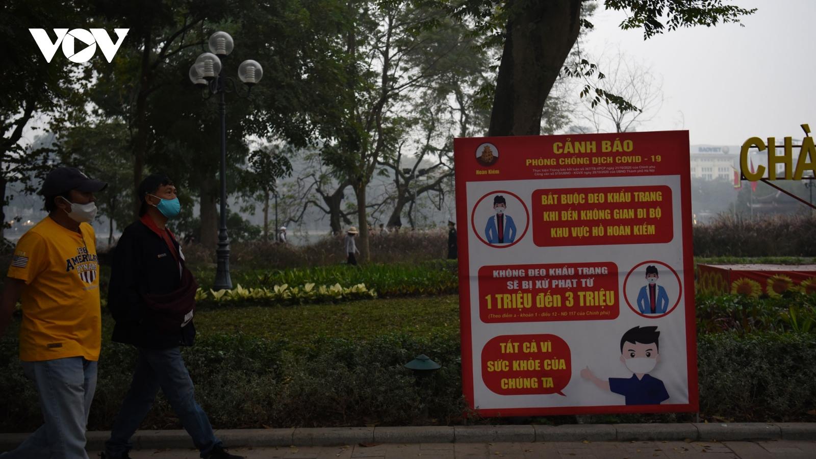 Hà Nội tạm dừng các lễ hội, phố đi bộ, sự kiện đông người để phòng chống dịch Covid-19