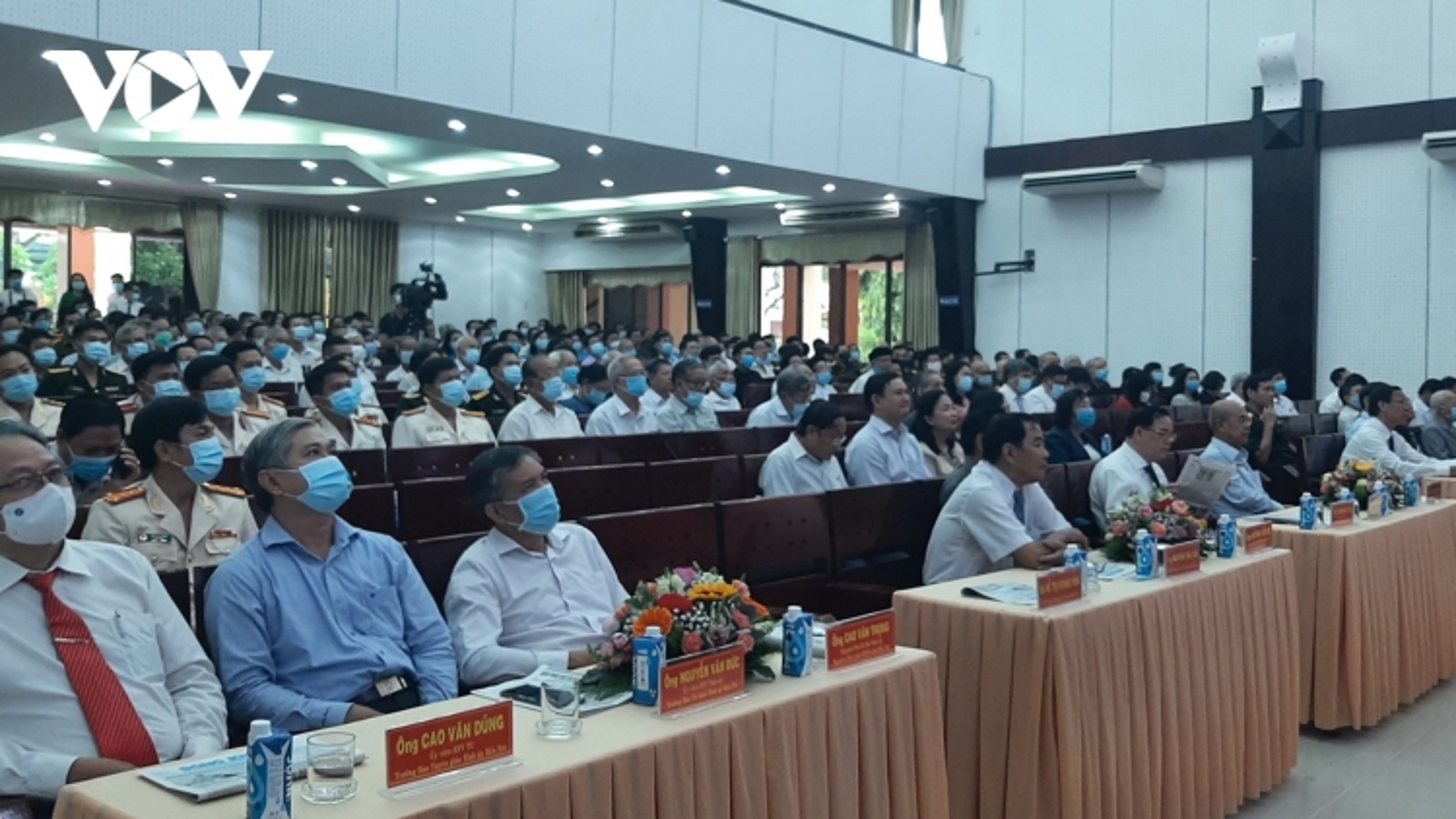 Quê hương Đồng Khởi họp mặt kỷ niệm 46 năm Ngày Giải phóng Miền Nam
