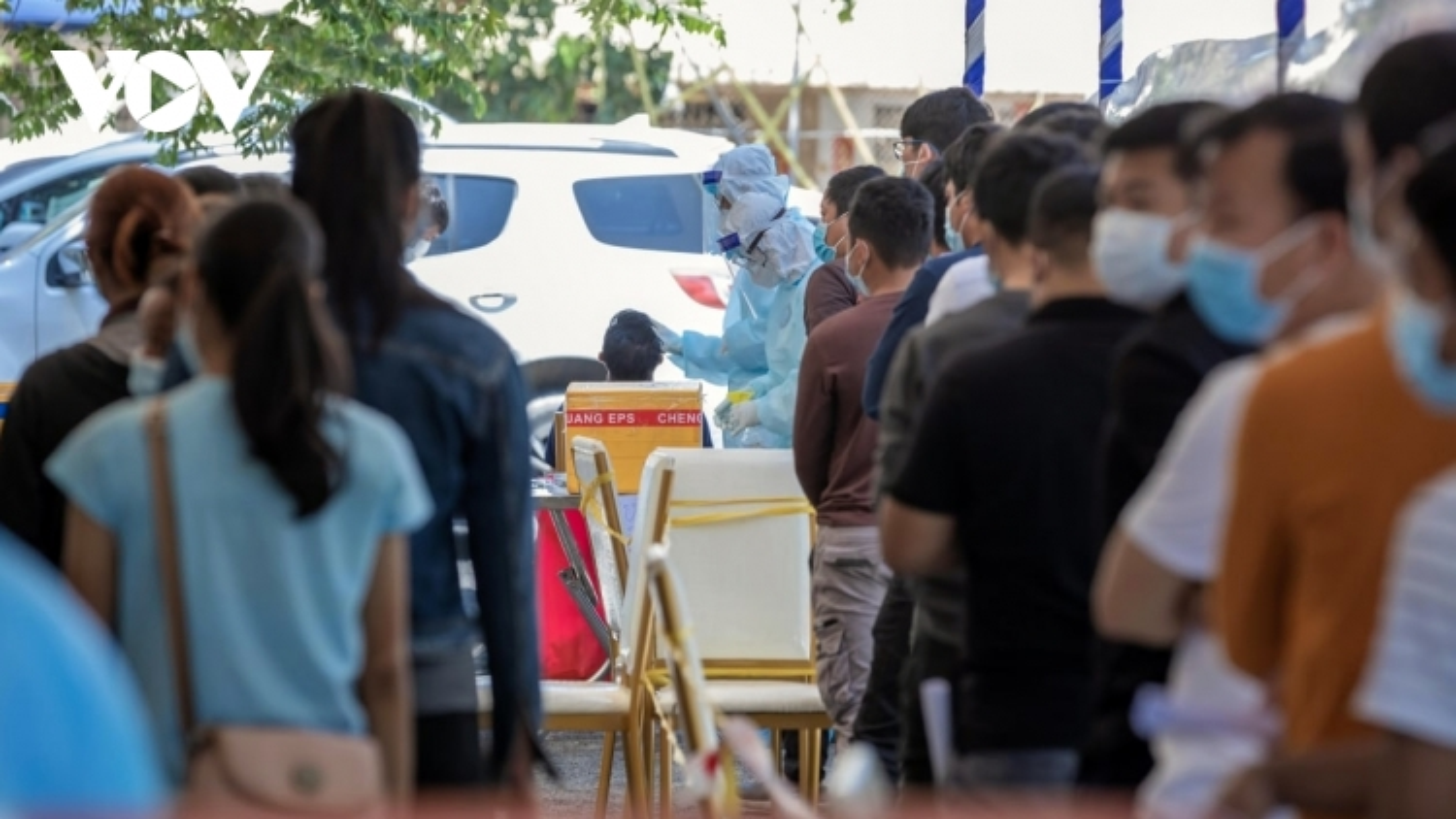 Số ca mắc Covid-19 tại thủ đô Phnom Penh (Campuchia) tăng kỷ lục