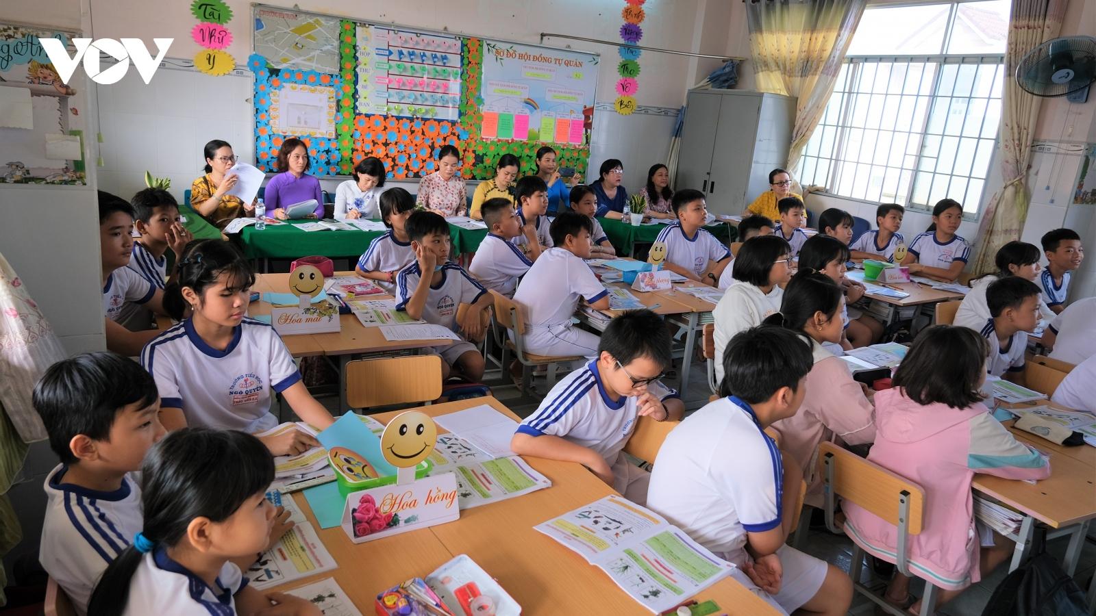 """Học sinh, giáo viên Cần Thơ """"bắt nhịp"""" tốt với Chương trình giáo dục phổ thông mới"""