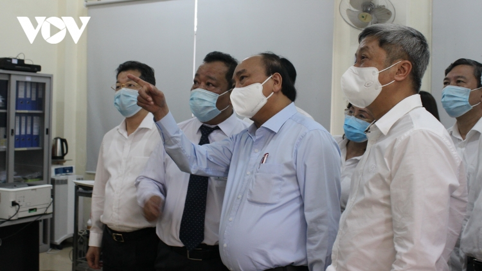 Chủ tịch nước Nguyễn Xuân Phúc: Phòng chống, dịch COVID-19 với tinh thần cao nhất