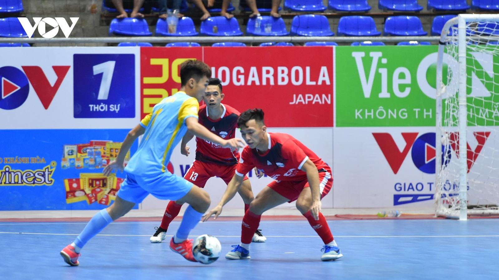 Giải Futsal HDBank VĐQG 2021: Hiếu Hoa Đà Nẵng 1-2 S.Khánh Hòa