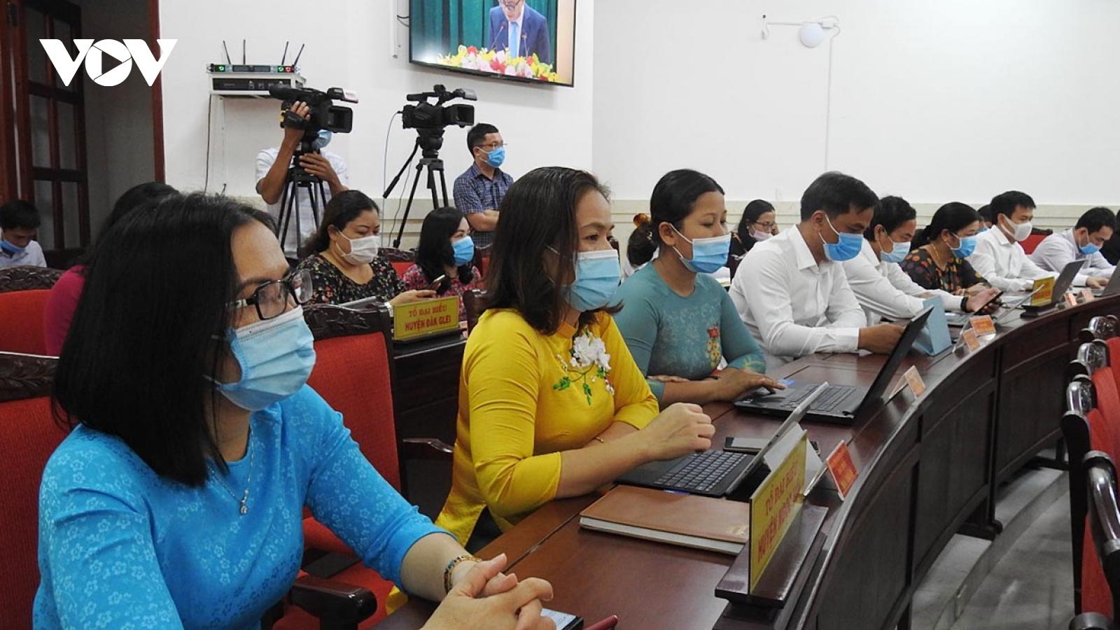 Kon Tum tổ chức kỳ họp HĐND tỉnh cuối cùng nhiệm kỳ khóa XI