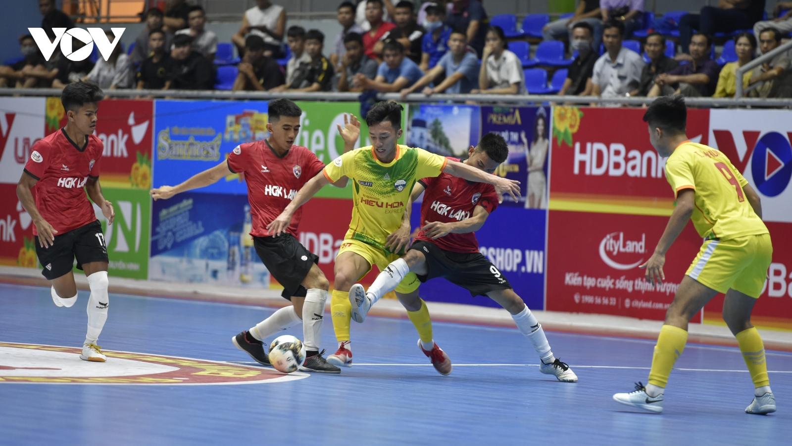 Lịch thi đấu Giải Futsal HDBank VĐQG 2021 hôm nay 23/4