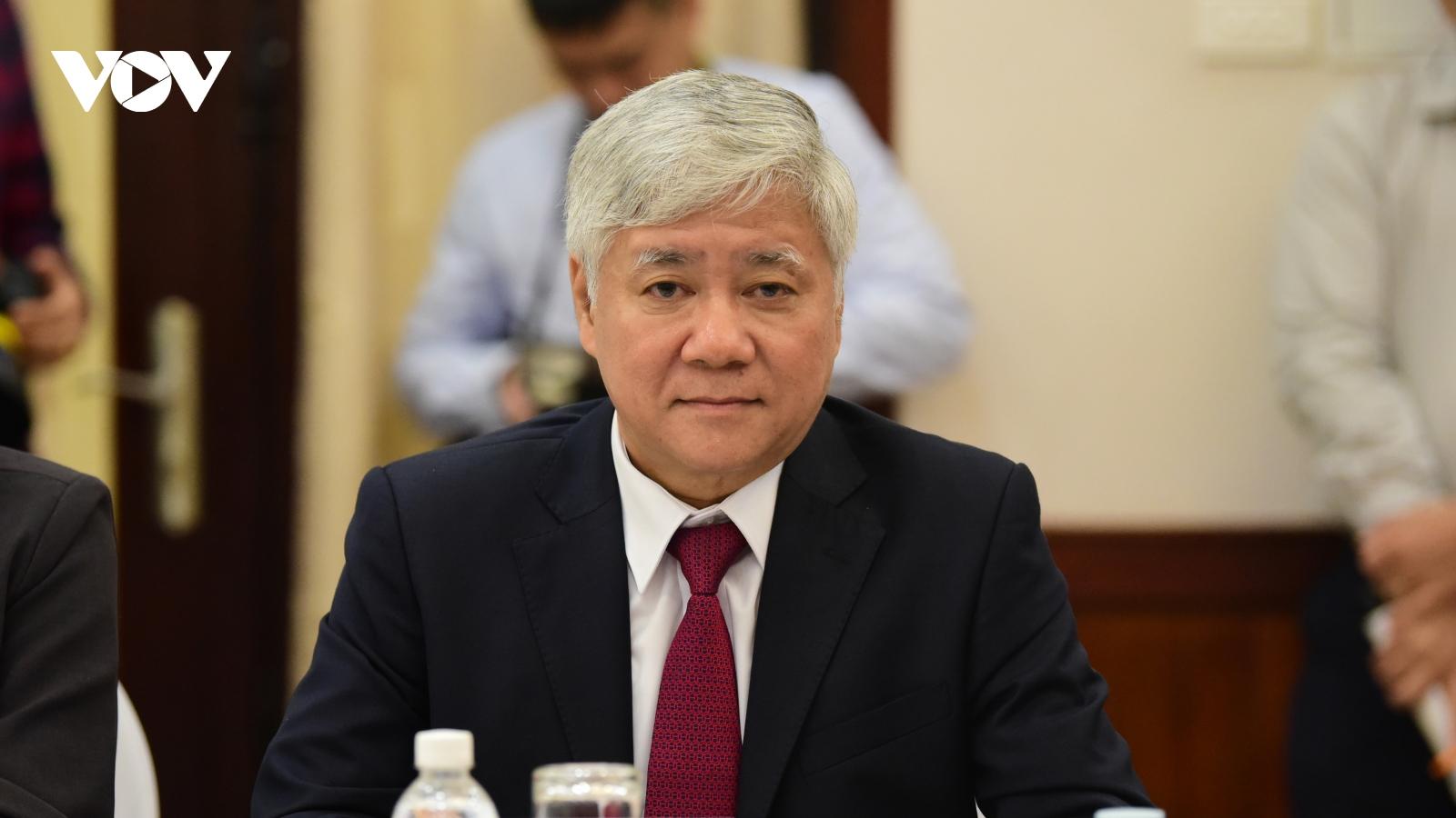 Bộ Chính trị giới thiệu ông Đỗ Văn Chiến giữ chức Chủ tịch UBTƯ MTTQ Việt Nam