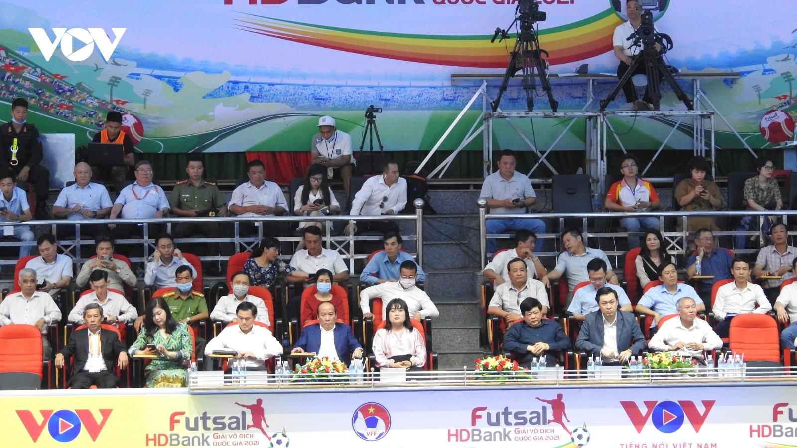 Khai mạc Giải Futsal HDBank VĐQG 2021 tại Đắk Lắk