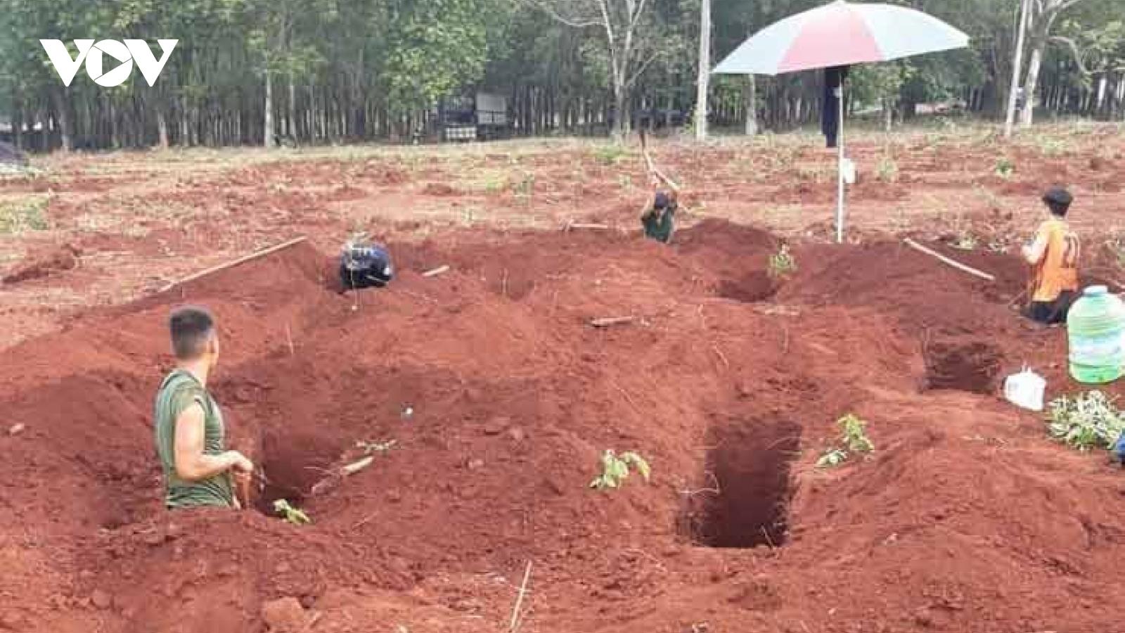 37 hài cốt liệt sĩ được tìm thấy tại Bình Phước
