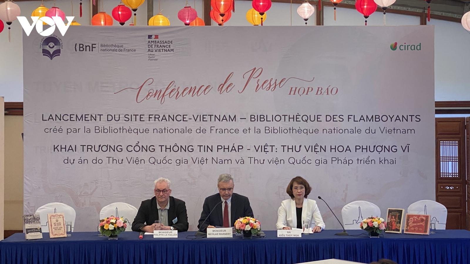 Ra mắt thư viện số Pháp - Việt giới thiệu 2000 di sản tư liệu Đông Dương