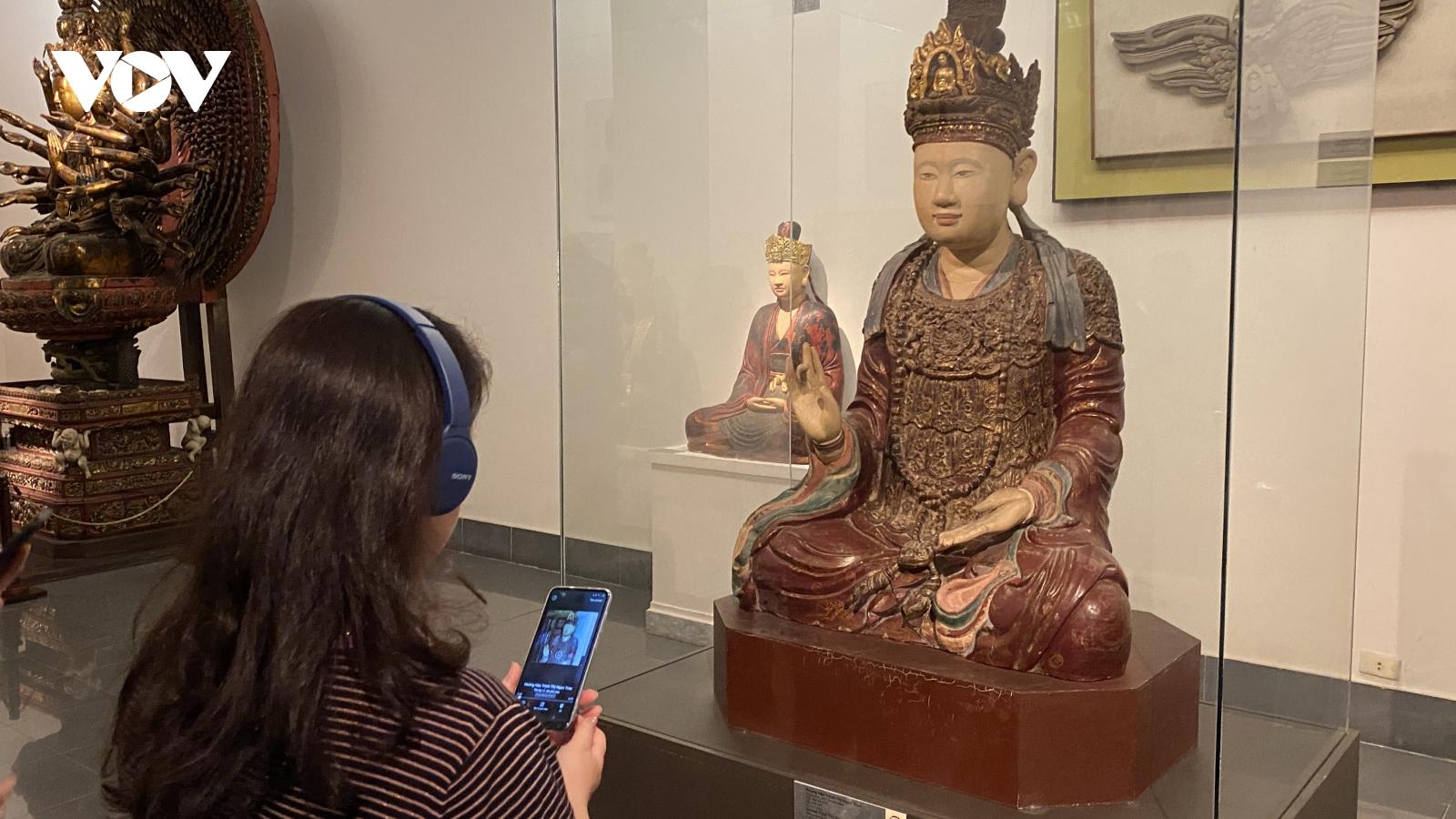 Khám phá 100 tác phẩm mỹ thuật Việt Nam qua ứng dụng bảo tàng số