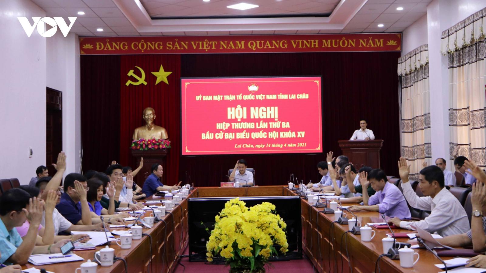 Người ứng cử Đại biểu quốc hội tại Lai Châu 100% là người dân tộc thiểu số