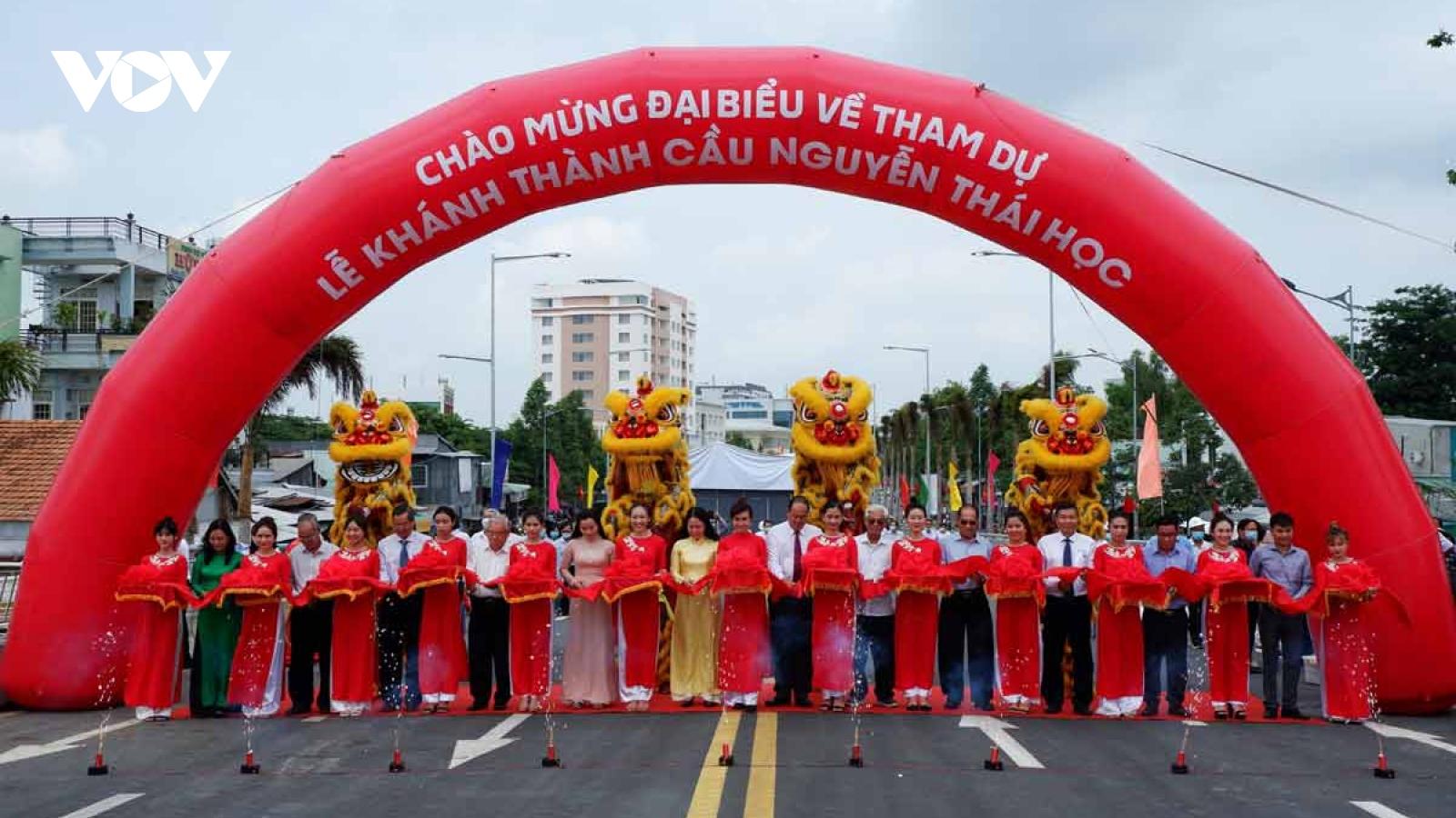 Khánh thành cây cầu đầu tiên của tỉnh An Giang được thi tuyển kiến trúc