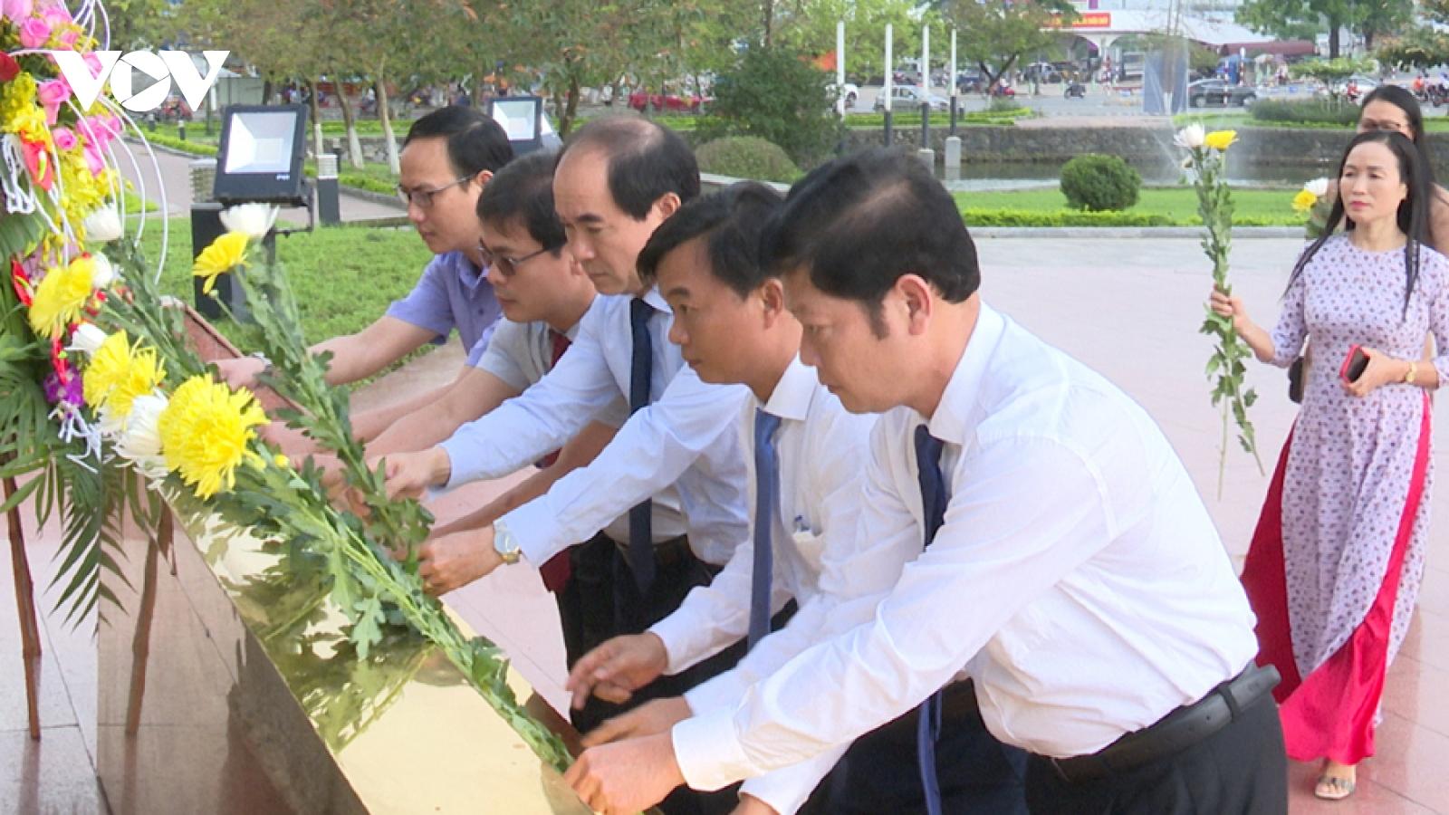 Kỷ niệm 114 năm ngày sinh Tổng Bí thư Lê Duẩn tại Quảng Trị