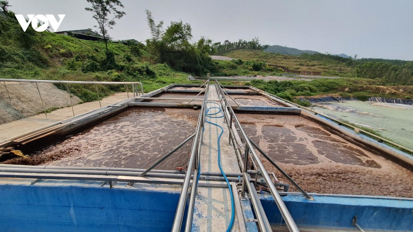 Người dân Quảng Nam dựng barie yêu cầu chủ trang trại heo dừng hoạt động