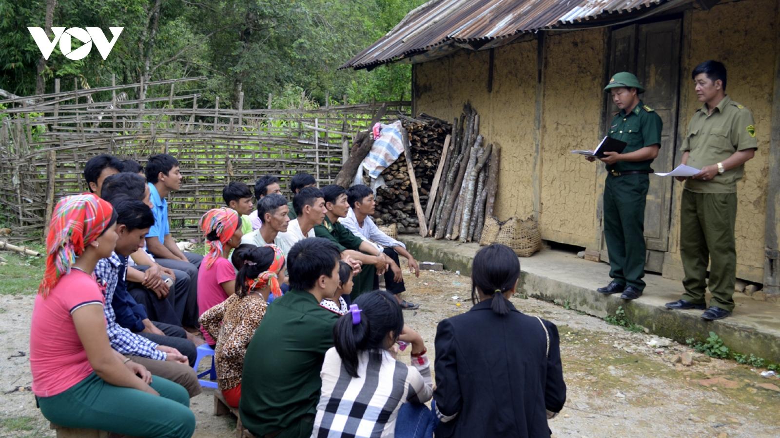 """Tuyên truyền bầu cử ở Lai Châu: """"Người biết truyền đạt cho người chưa biết"""""""