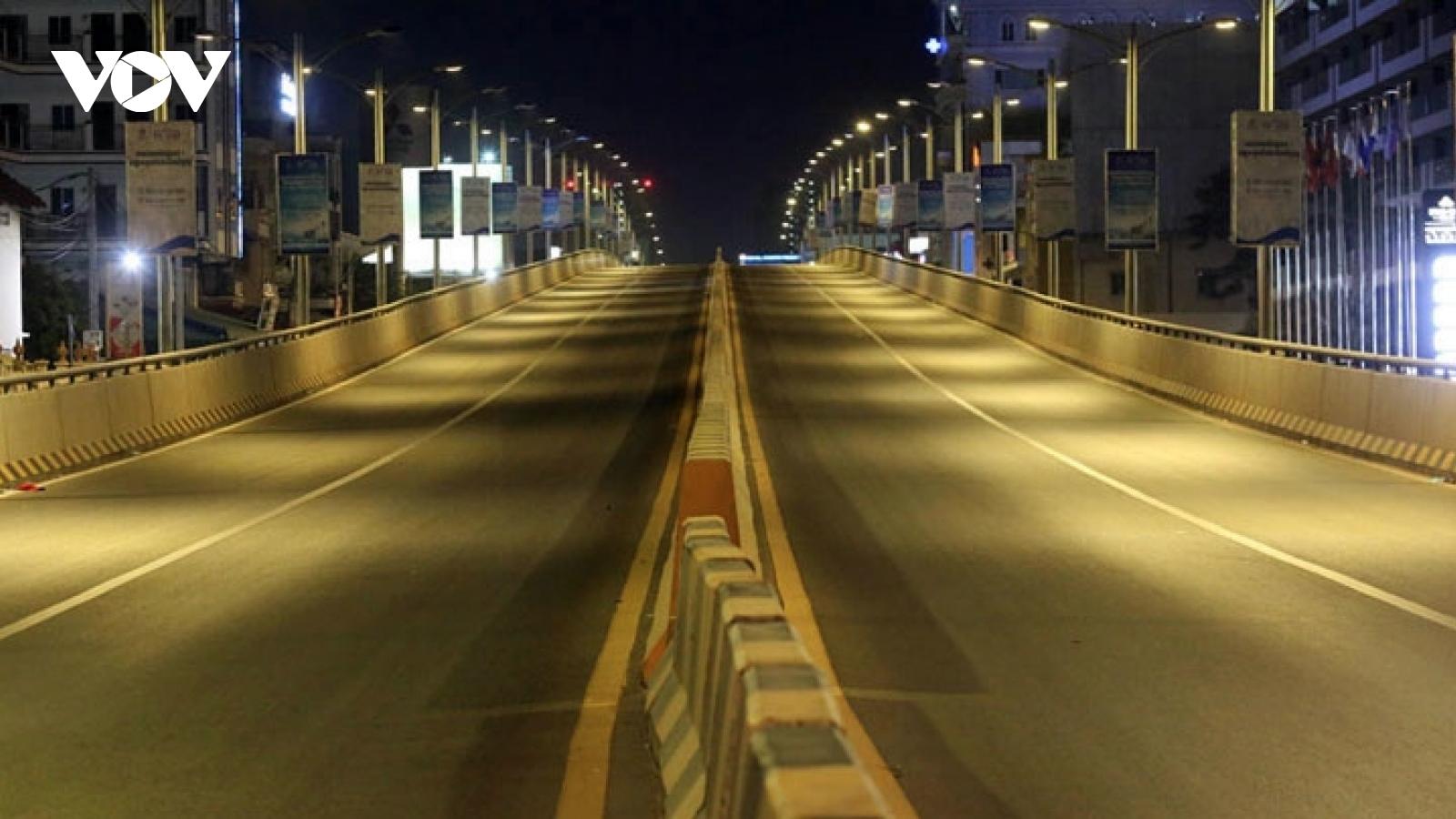 Phnom Penh kéo dài giới nghiêm trước Tết dân tộc, Thái Lan yên lặng đón Tết cổ truyền