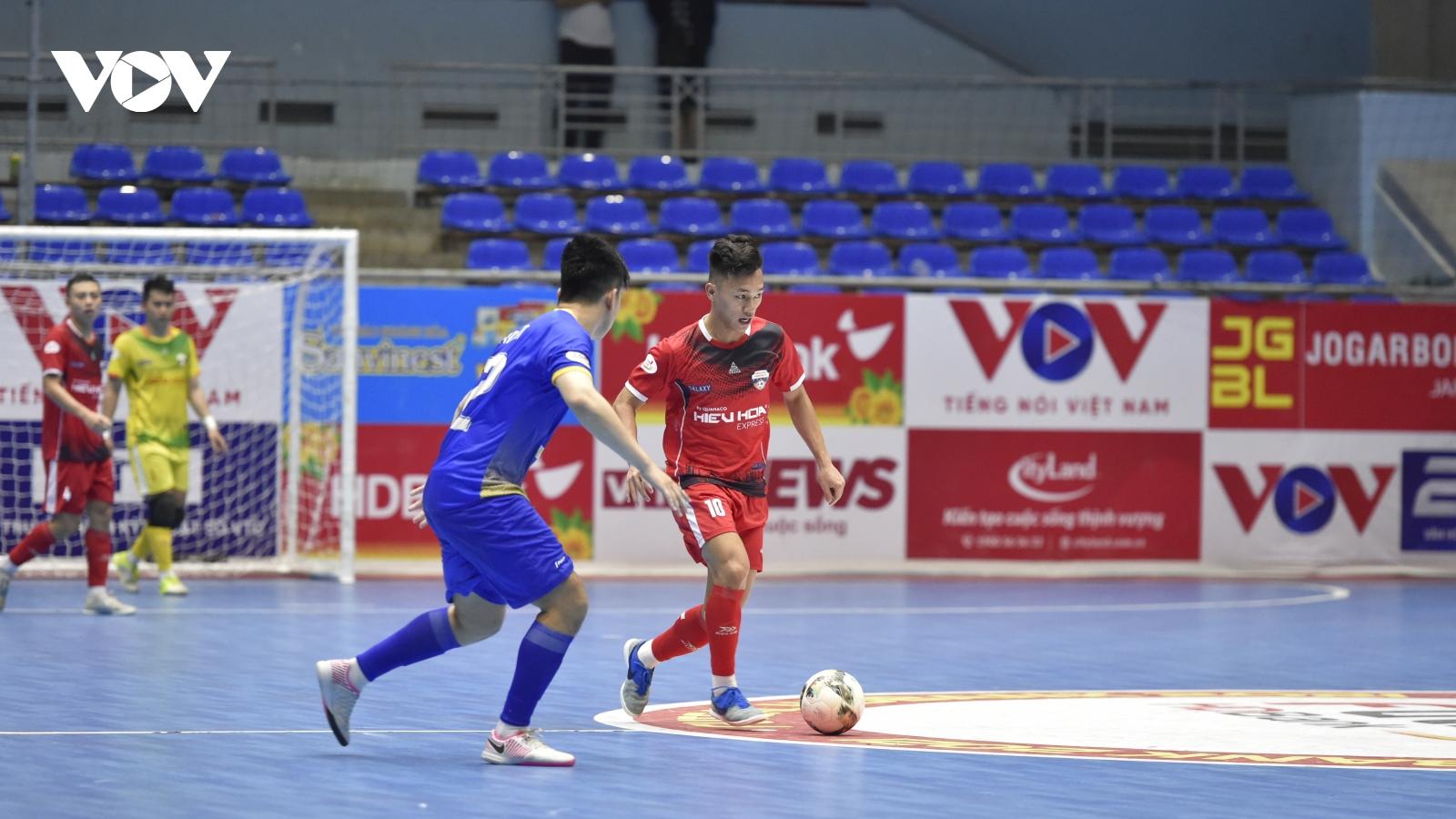 BXH sau vòng 7 giải Futsal HDBank VĐQG 2021: Căng thẳng cuộc đua vô địch
