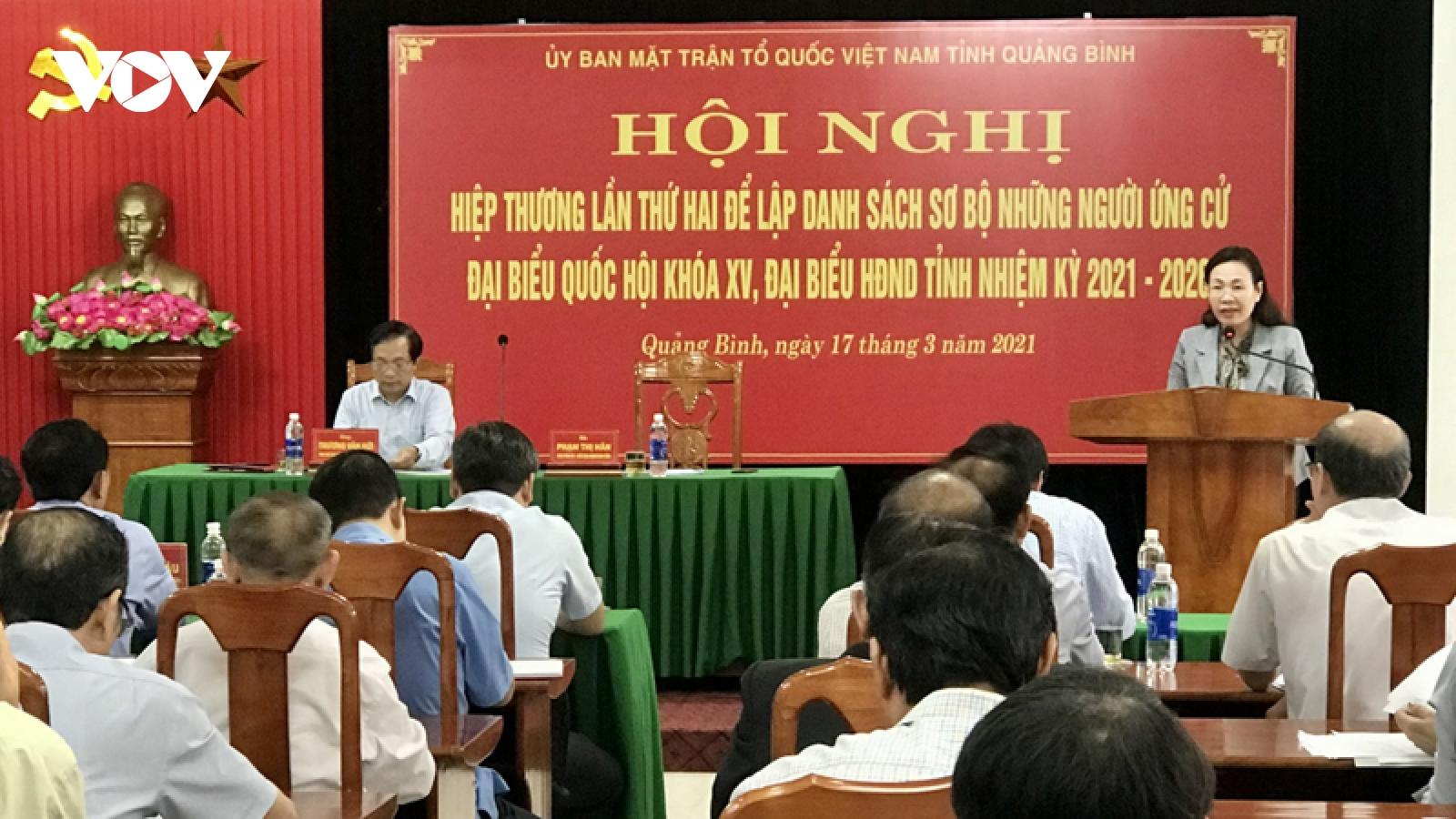 Quảng Bình: 5 trường hợp ứng cử HĐND xã, tỷ lệ tín nhiệm dưới 50%