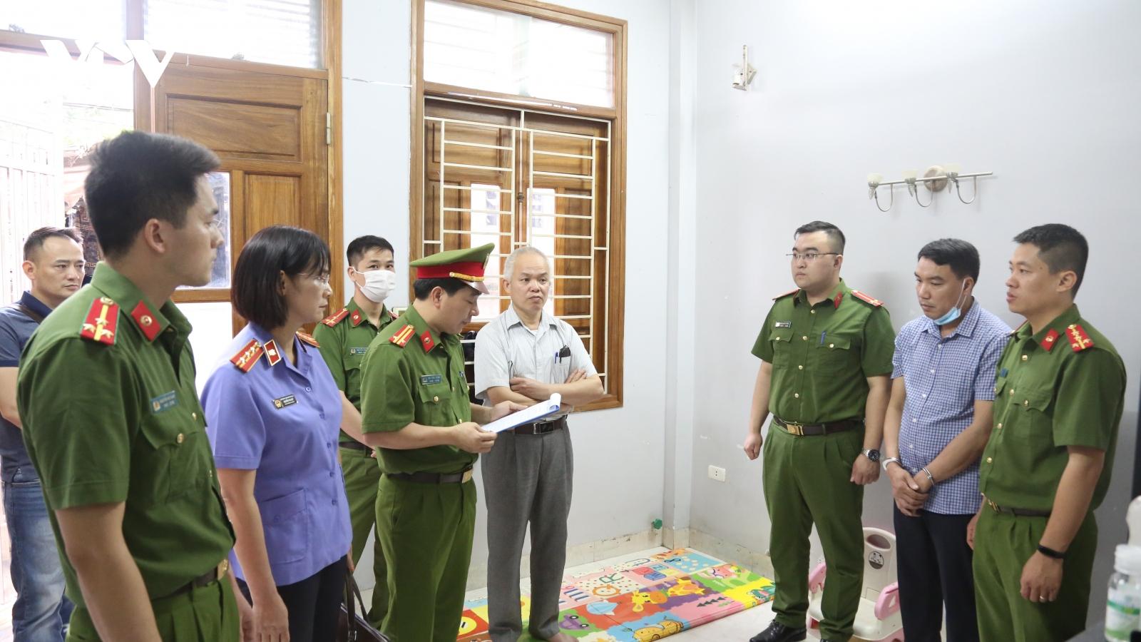 Vụ sai phạm trong đấu thầu tại Sở Y tế Sơn La: Tiếp tục bắt tạm giam 2  đối tượng