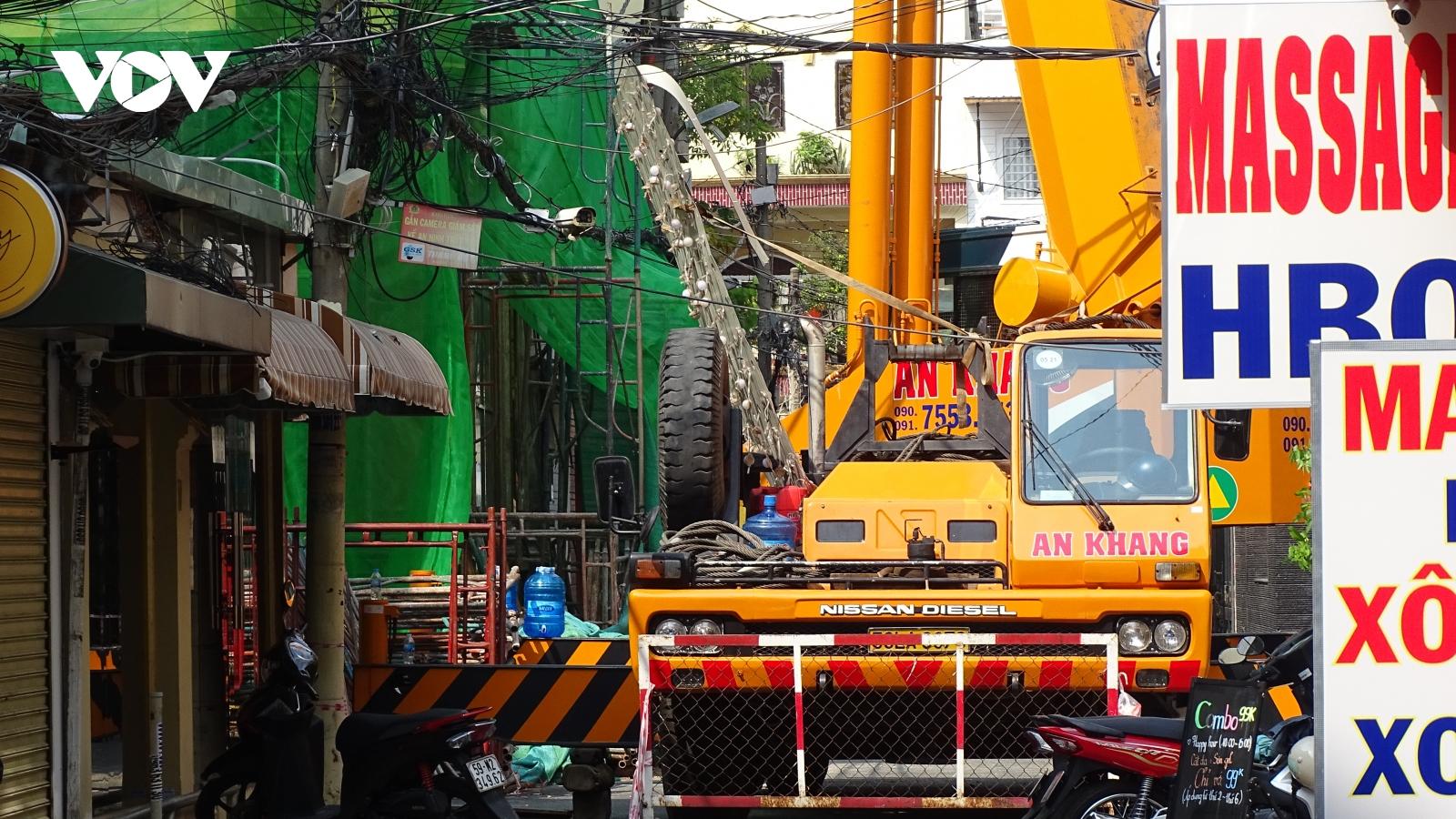 Tháo dỡ 7 công trình xây dựng sai phép ở TPHCM