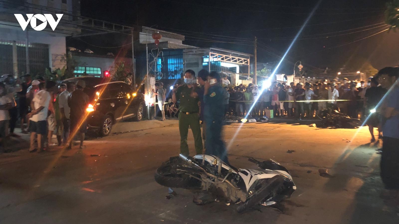 Tài xế gây tai nạn kinh hoàng ở Quảng Nam có nồng độ cồn