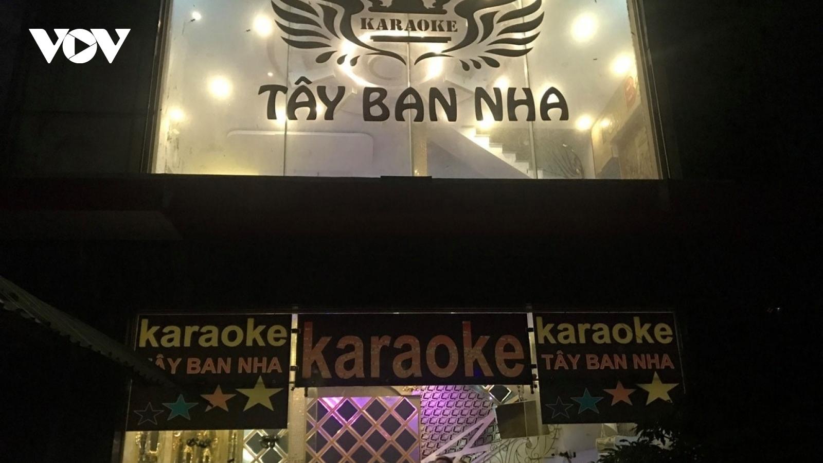 Phát hiện quán karaoke thứ 3 tại Tiền Giang có khách sử dụng ma túy