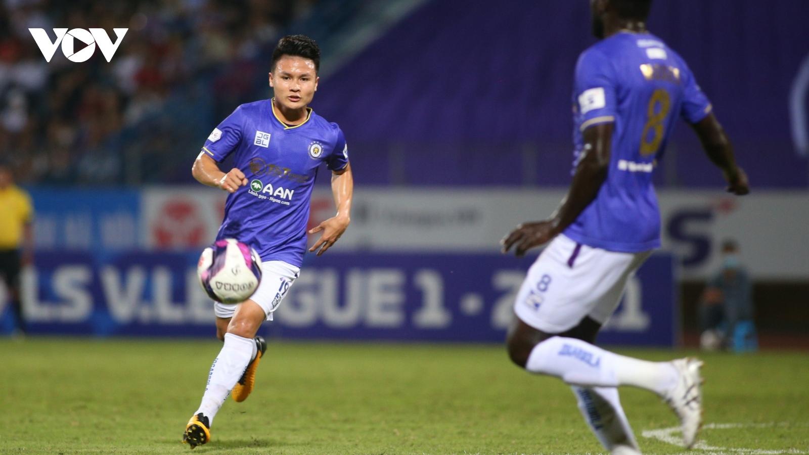 TRỰC TIẾP Hà Nội FC 0-0 Quảng Ninh: Chờ Quang Hải tỏa sáng