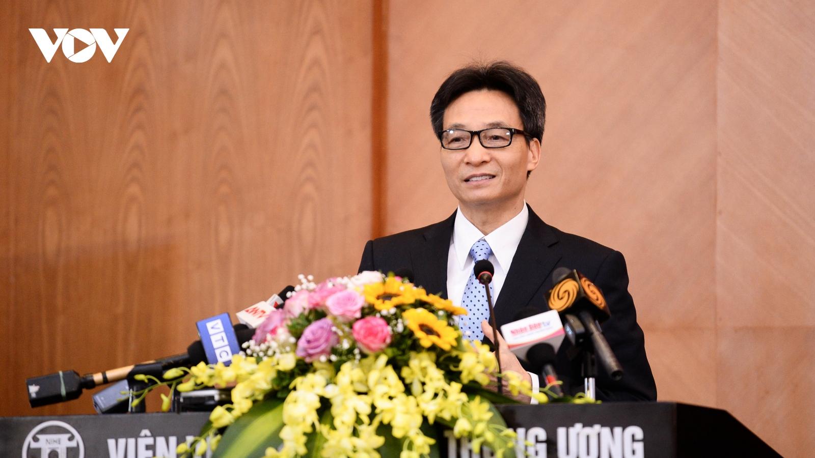 Phó Thủ tướng Vũ Đức Đam: Việt Nam cam kết sẽ sử dụng tốt lô vaccine viện trợ của COVAX