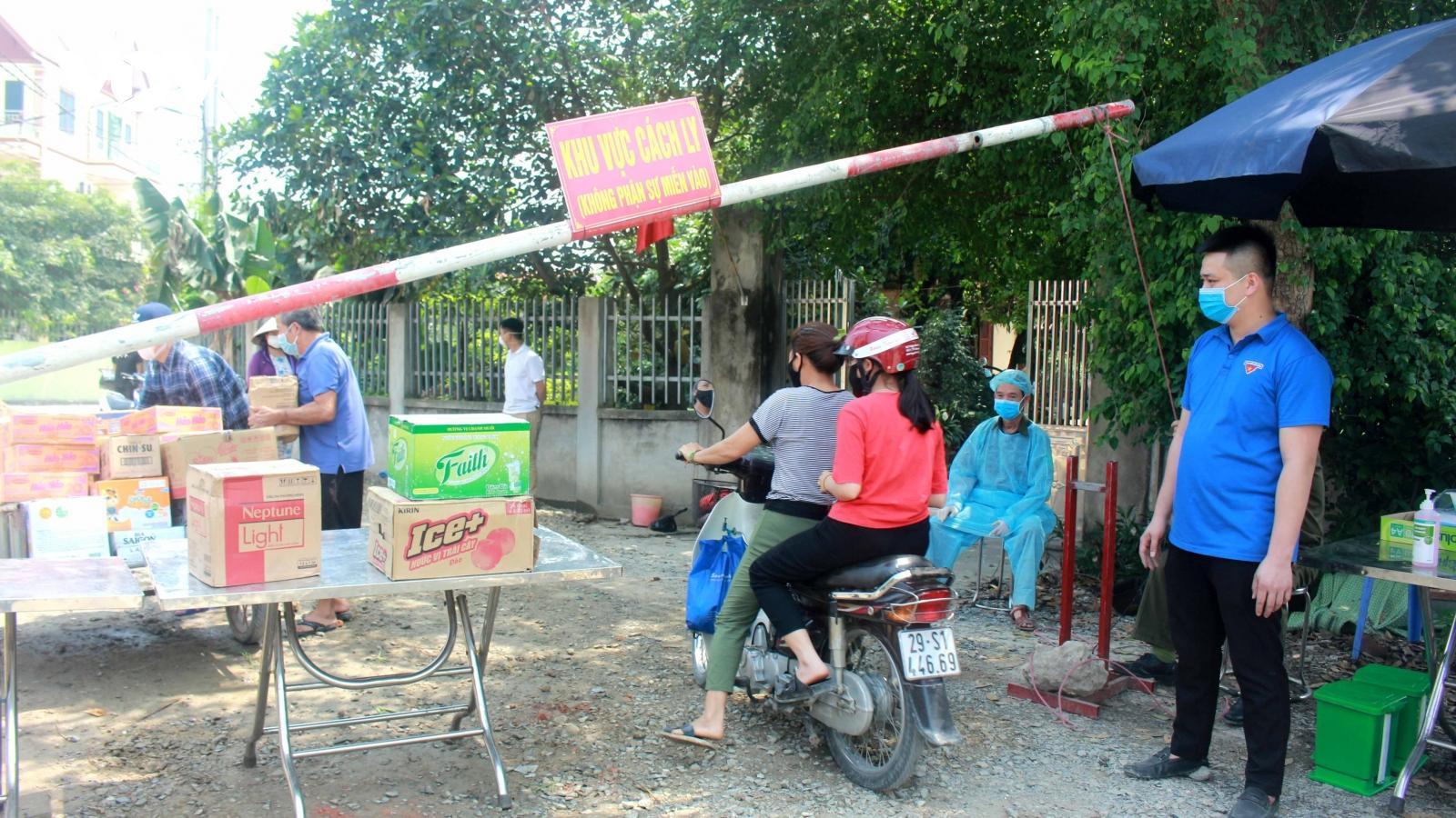 Phong tỏa khu dân cư bệnh nhân Covid-19 sinh sống ở huyện Đông Anh, Hà Nội