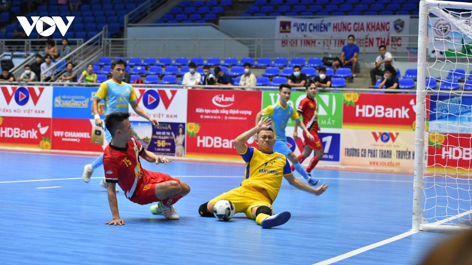 """Giải Futsal HDBank VĐQG 2021: Zetbit Sài Gòn """"thổi lửa"""" vào cuộc đua vô địch"""