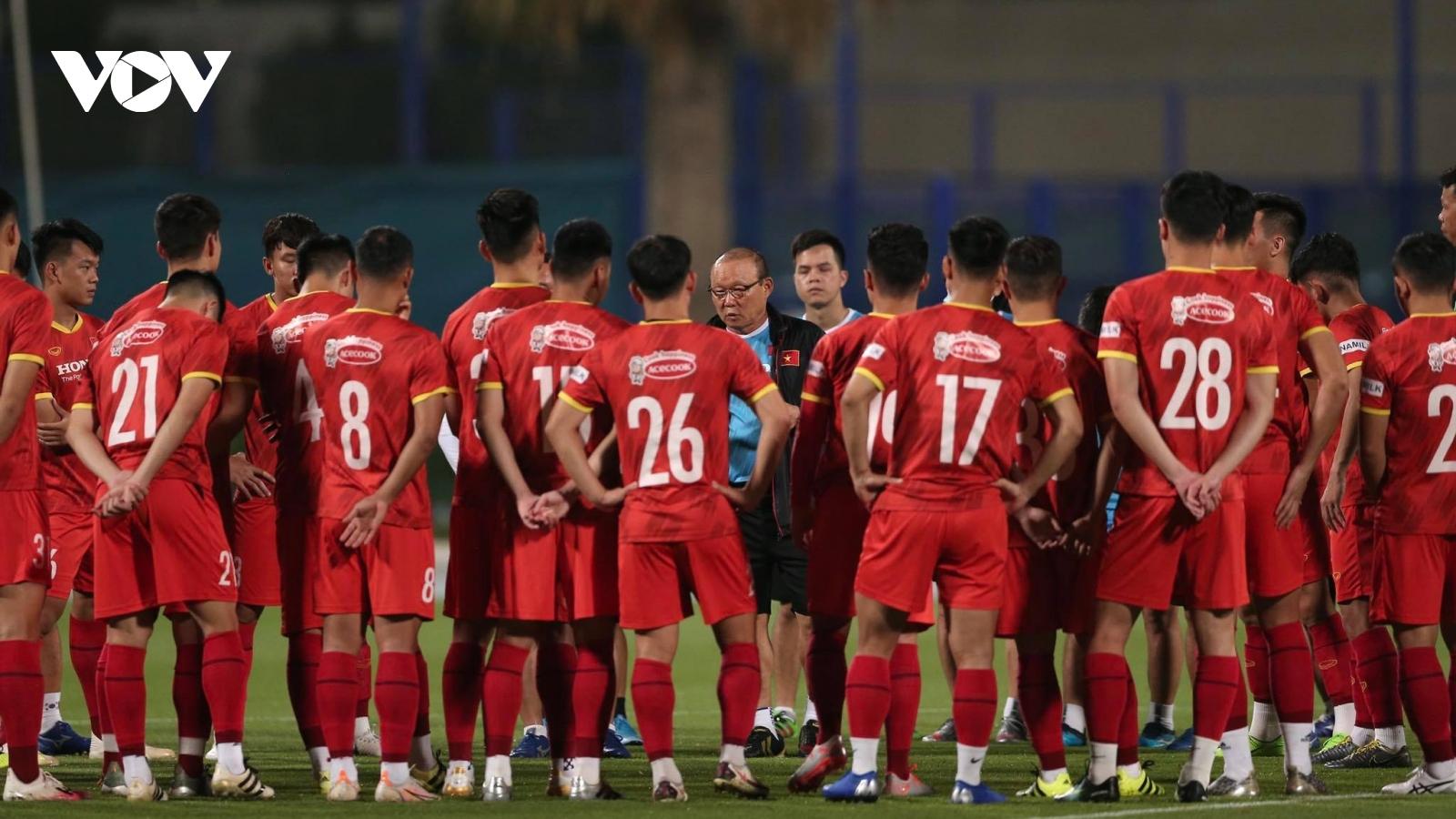 ĐT Việt Nam đầy đủ lực lượng hướng tới trận gặp Jordan