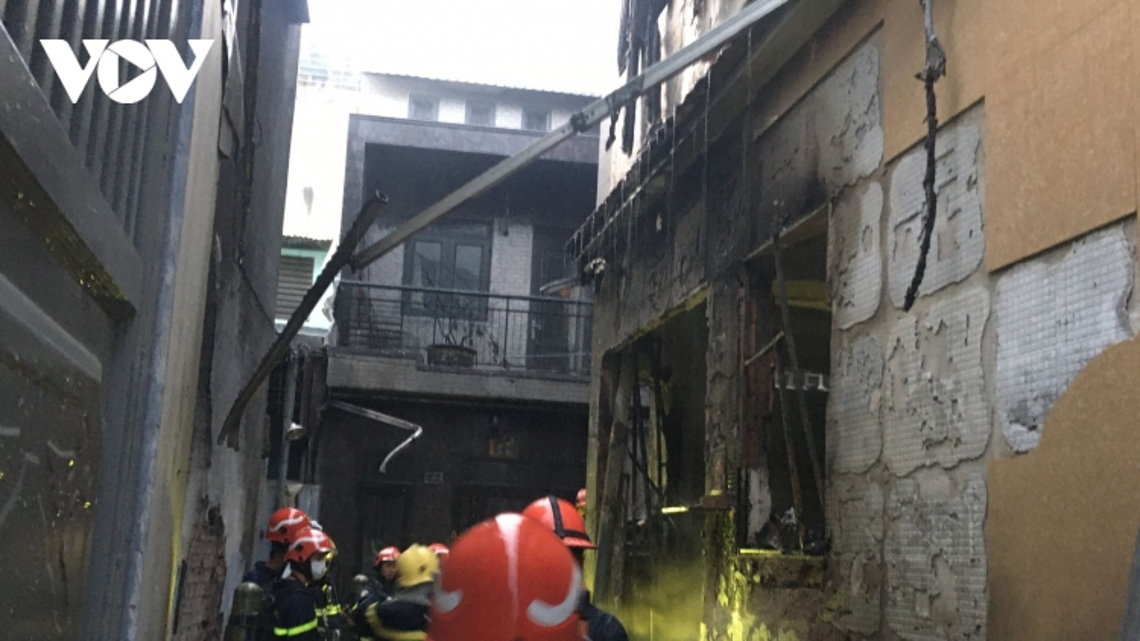 Cháy nhà dân ở Quận 11 TP HCM, ít nhất 7 người chết