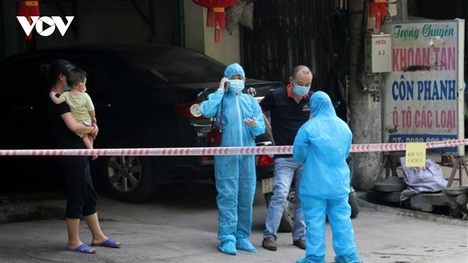 Thành phố Hòa Bình kết thúccách ly y tế tại khu dân cư tổ 15, phường Đồng Tiến