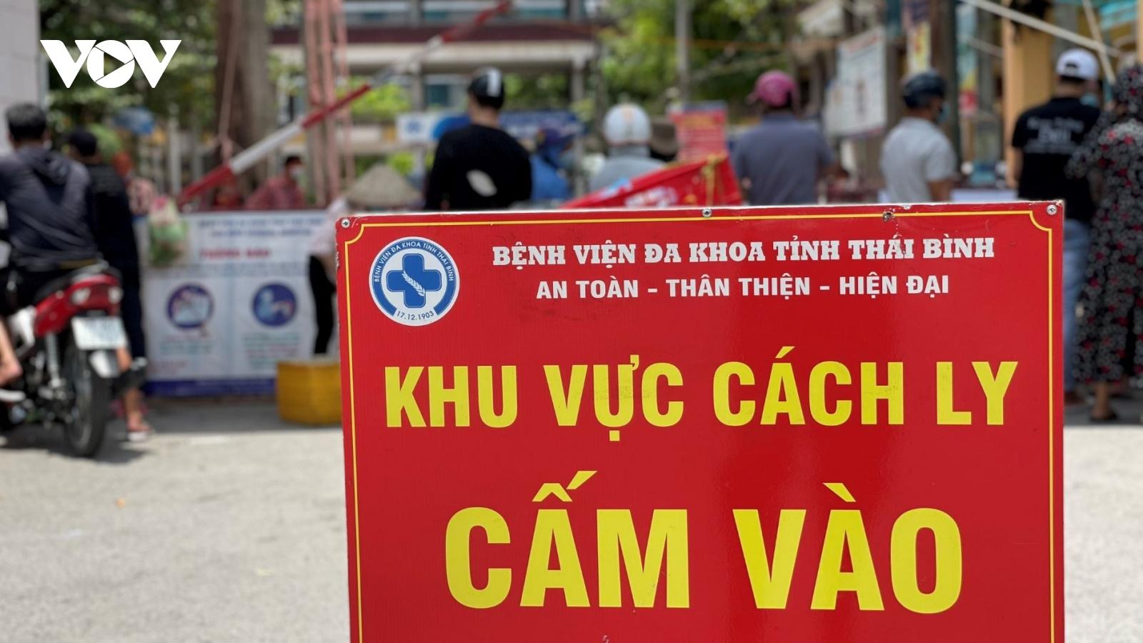 Cận cảnh các điểm cách ly tại Thái Bình