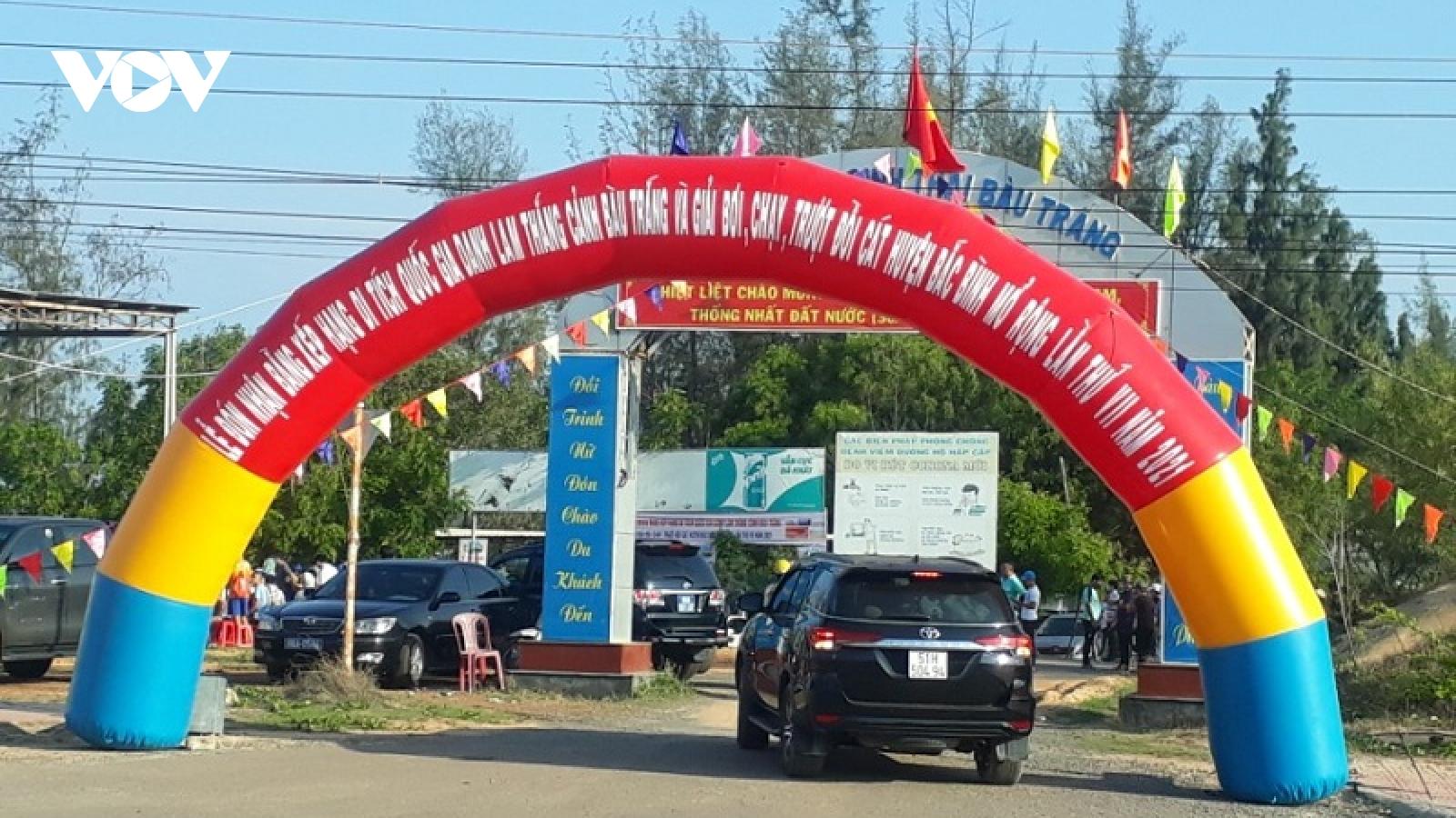 Bình Thuận tạm dừng đón khách du lịch đến từ TP.HCM kể từ ngày 30/5