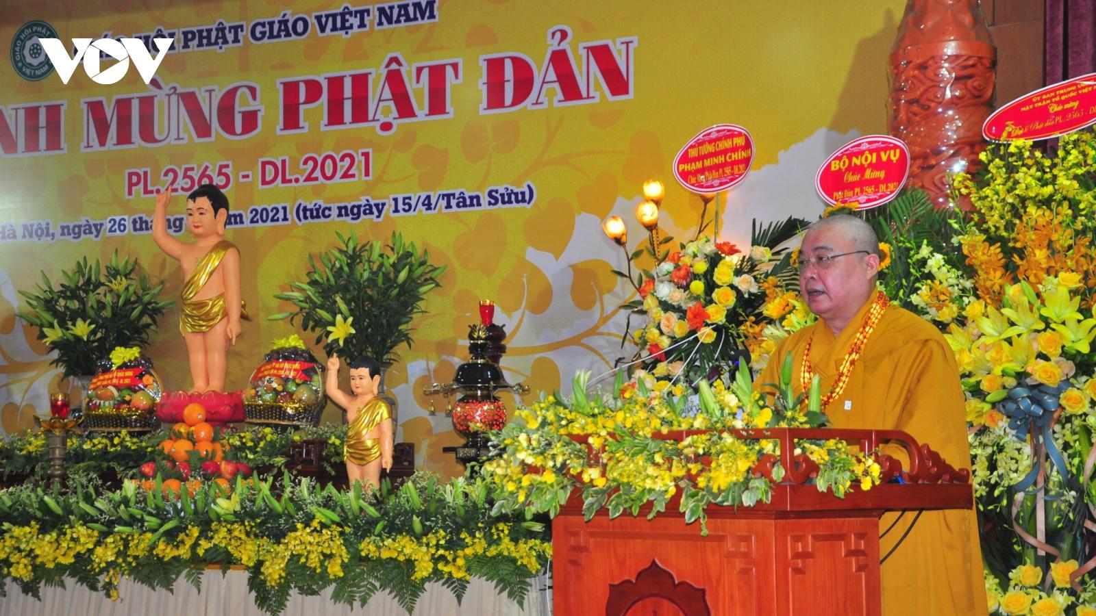 Đại lễ Phật đản 2021: Thông điệp chung tay đẩy lùi dịch Covid-19