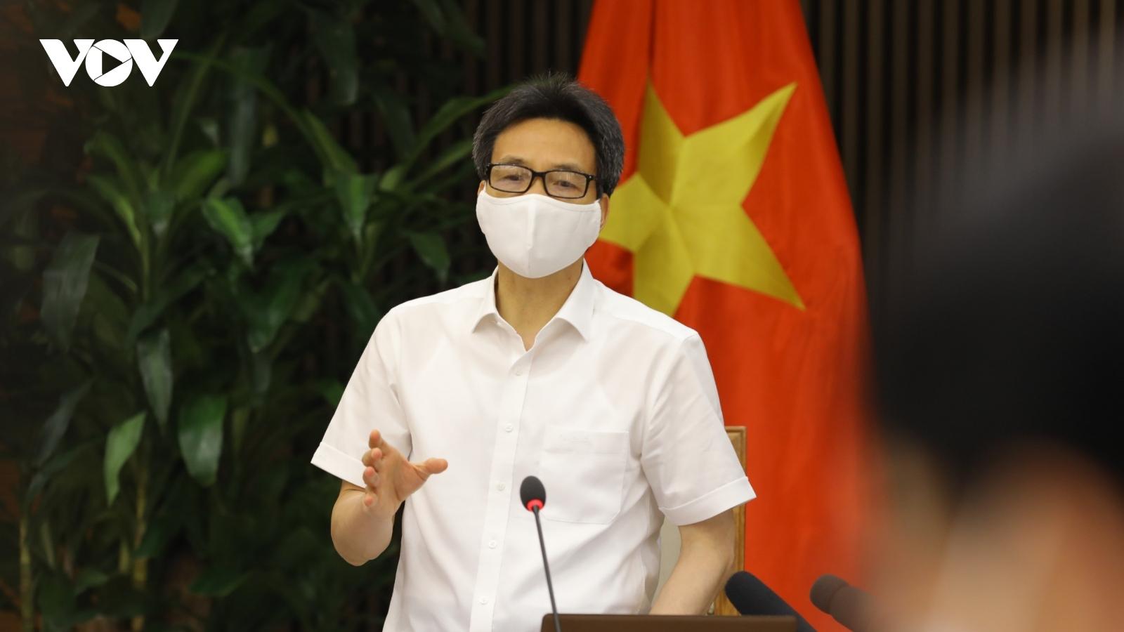 """Phó Thủ tướng Vũ Đức Đam: Bắc Giang, Bắc Ninh """"không để đứt gãy chuỗi sản xuất"""""""