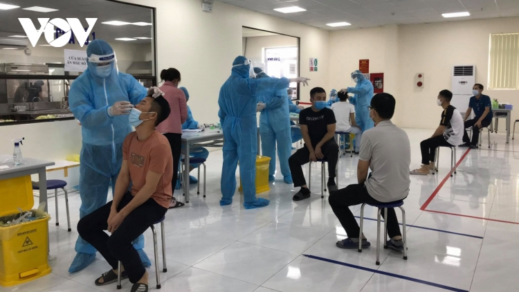 COVID-19 UPDATE: Bac Giang remains largest hotspot as cases surge