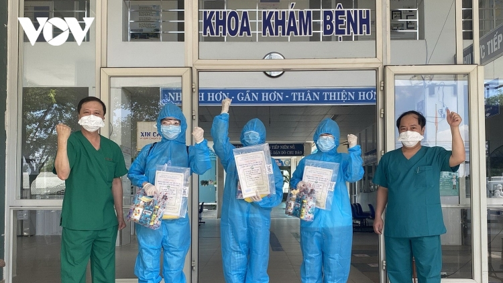 Đà Nẵng có thêm 5 bệnh nhân hết Covid-19 ra viện