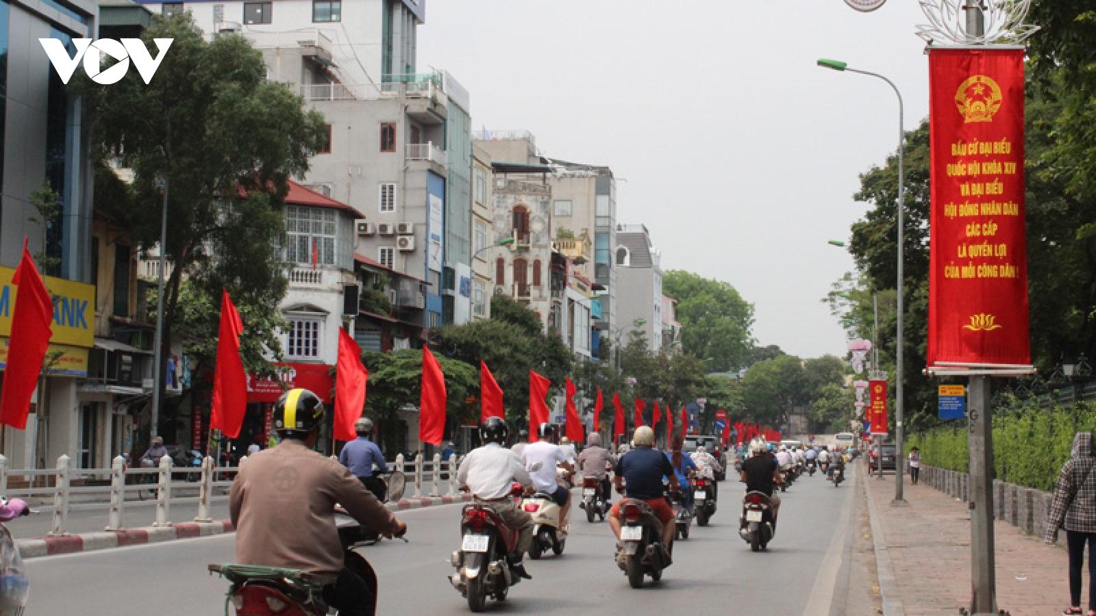Hà Nộisẵn sàng bầu cử trong điều kiện có dịch