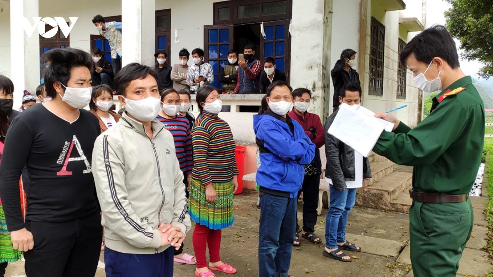 Lai Châu nâng mức cảnh báo phòng, chống dịch lên mức cao nhất