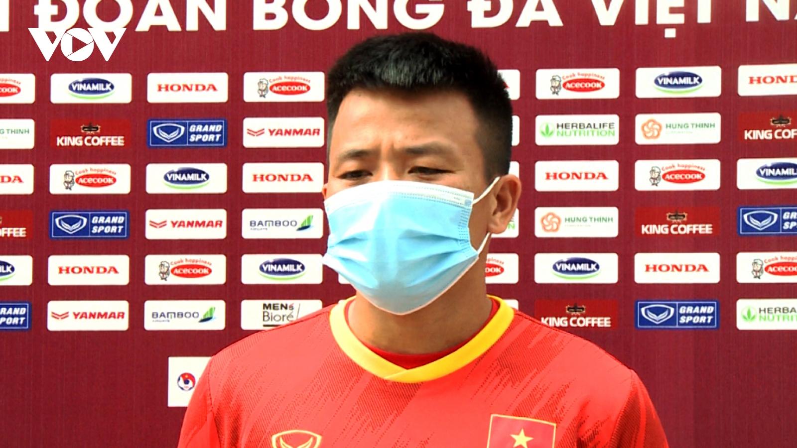 Tiền vệ U22 Việt Nam gửi lời chúc tới thầy Park và ĐT Việt Nam