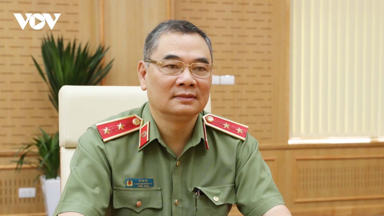 Trung tướng Tô Ân Xô: Bảo vệ tuyệt đối an ninh, an toàn cho Ngày Bầu cử