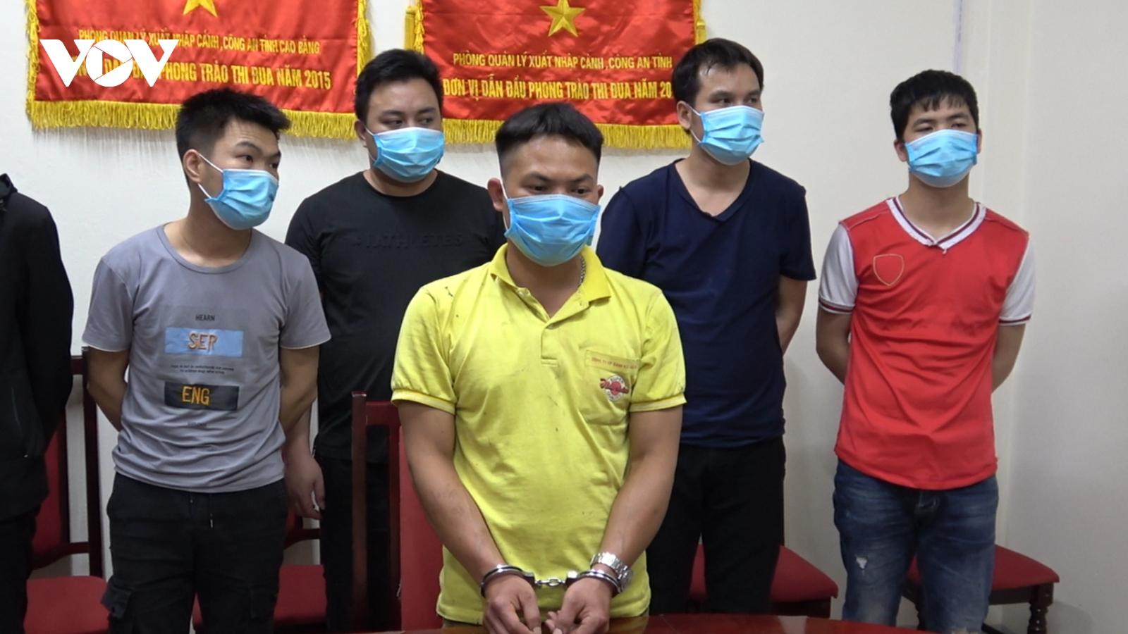 Cao Bằng tạm giữ đối tượng đưa 10 người Trung Quốc nhập cảnh trái phép vào Việt Nam