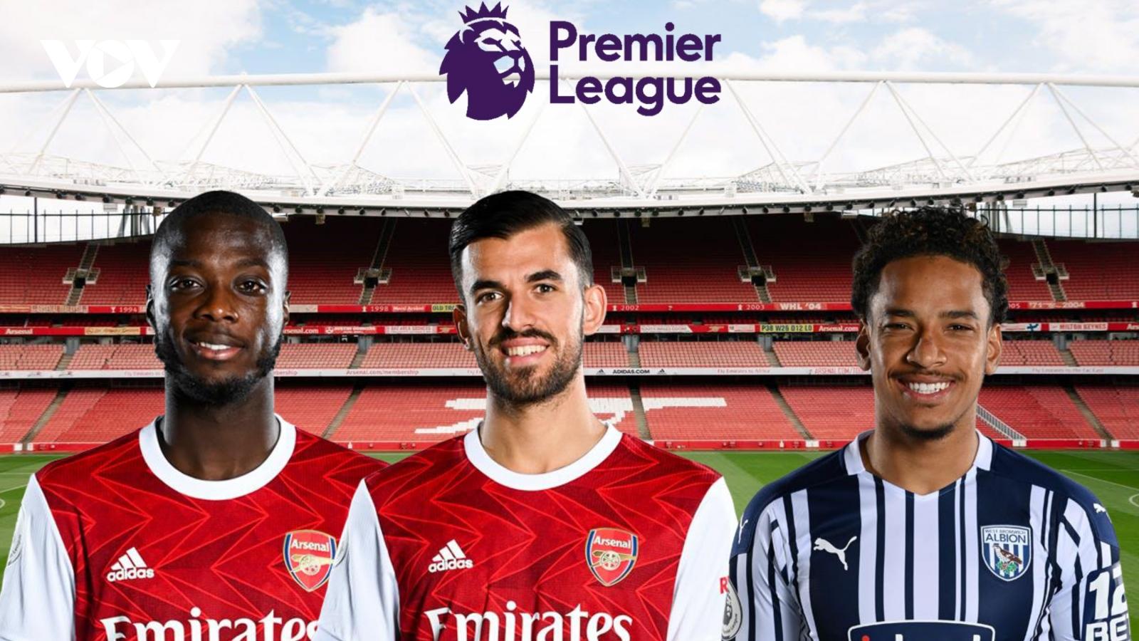 Dự đoán kết quả, đội hình xuất phát trận Arsenal – West Brom