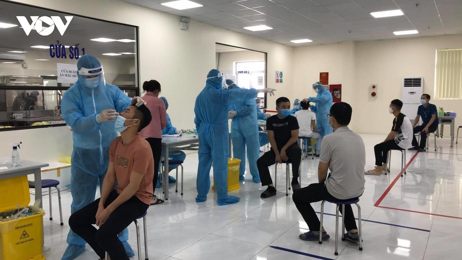 Thêm 1 khu công nghiệp ở Bắc Giang có ca dương tính với SARS-CoV-2