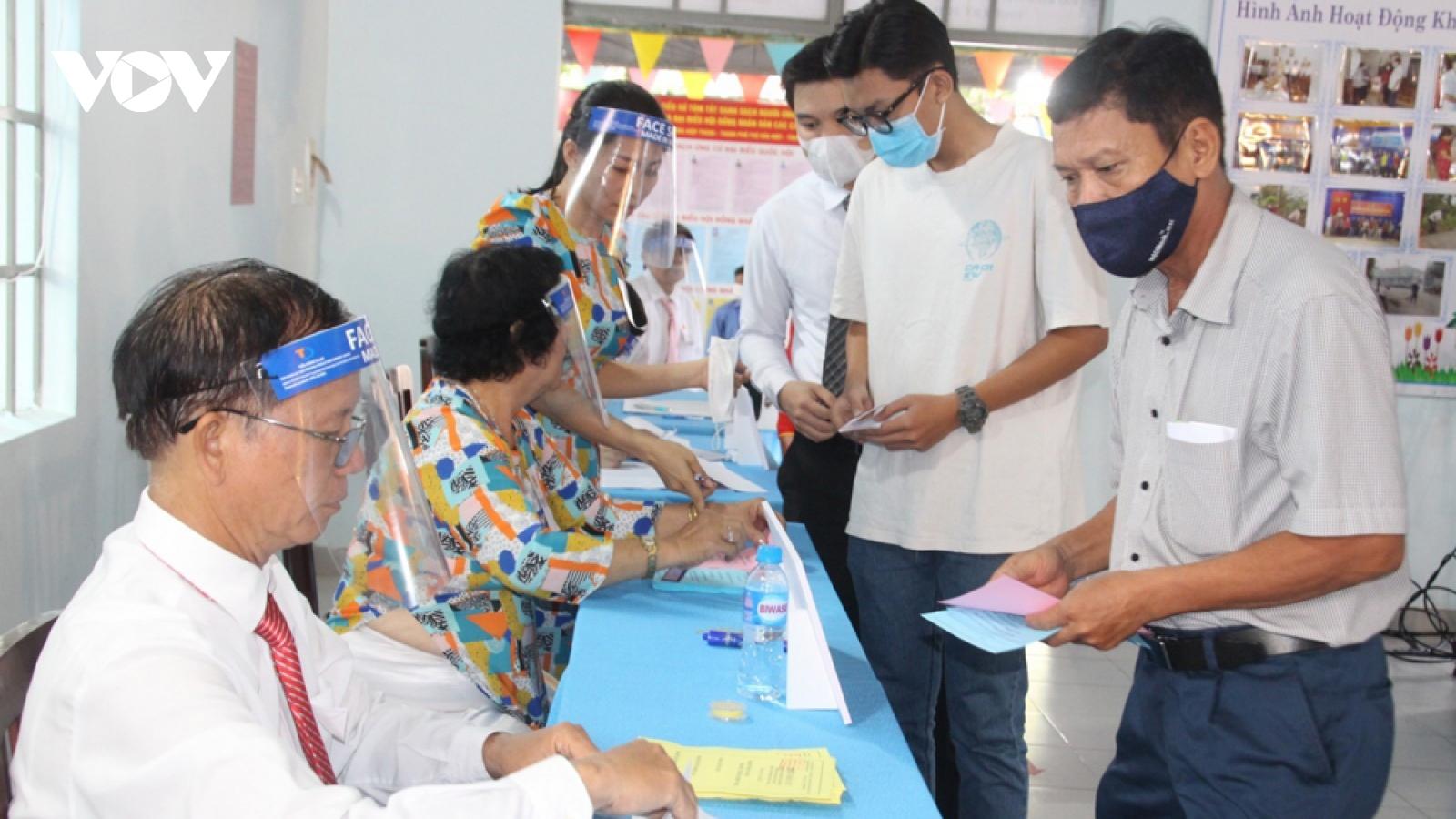 Kết quả bầu cử ở Bình Dương, Bình Phước