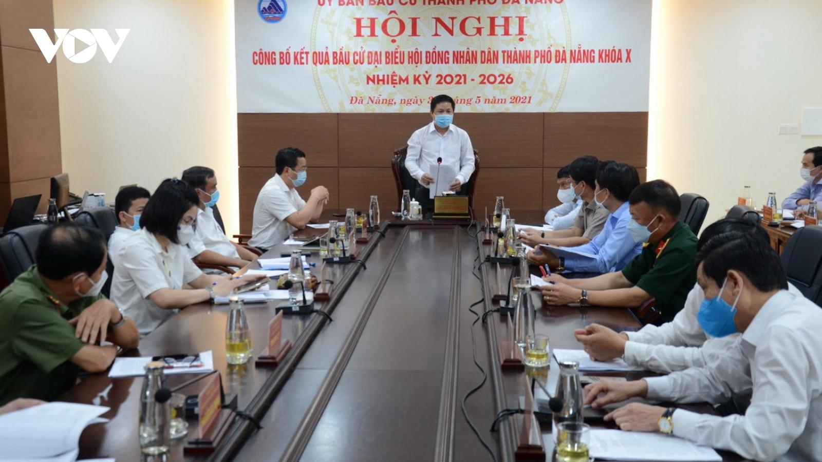 Đà Nẵng có 52 người trúng cử đại biểu HĐND thành phố