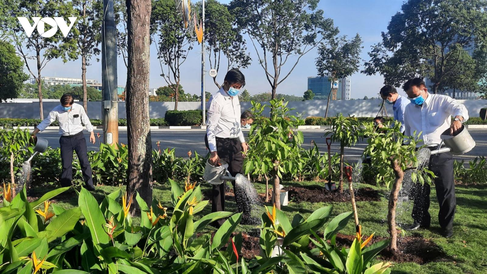 Bình Dương phát động Tết trồng cây nhớ Bác