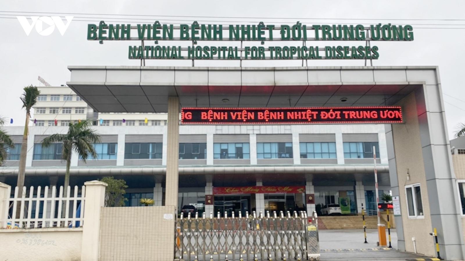 Bệnh viện Bệnh nhiệt đới Trung ương dừng khám, tiếp nhận BN vì có bác sĩ mắc COVID-19